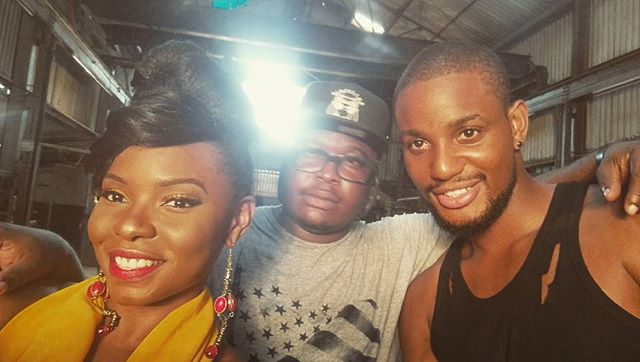 Yemi Alade Shoots New Music Video with Alexx Ekubo