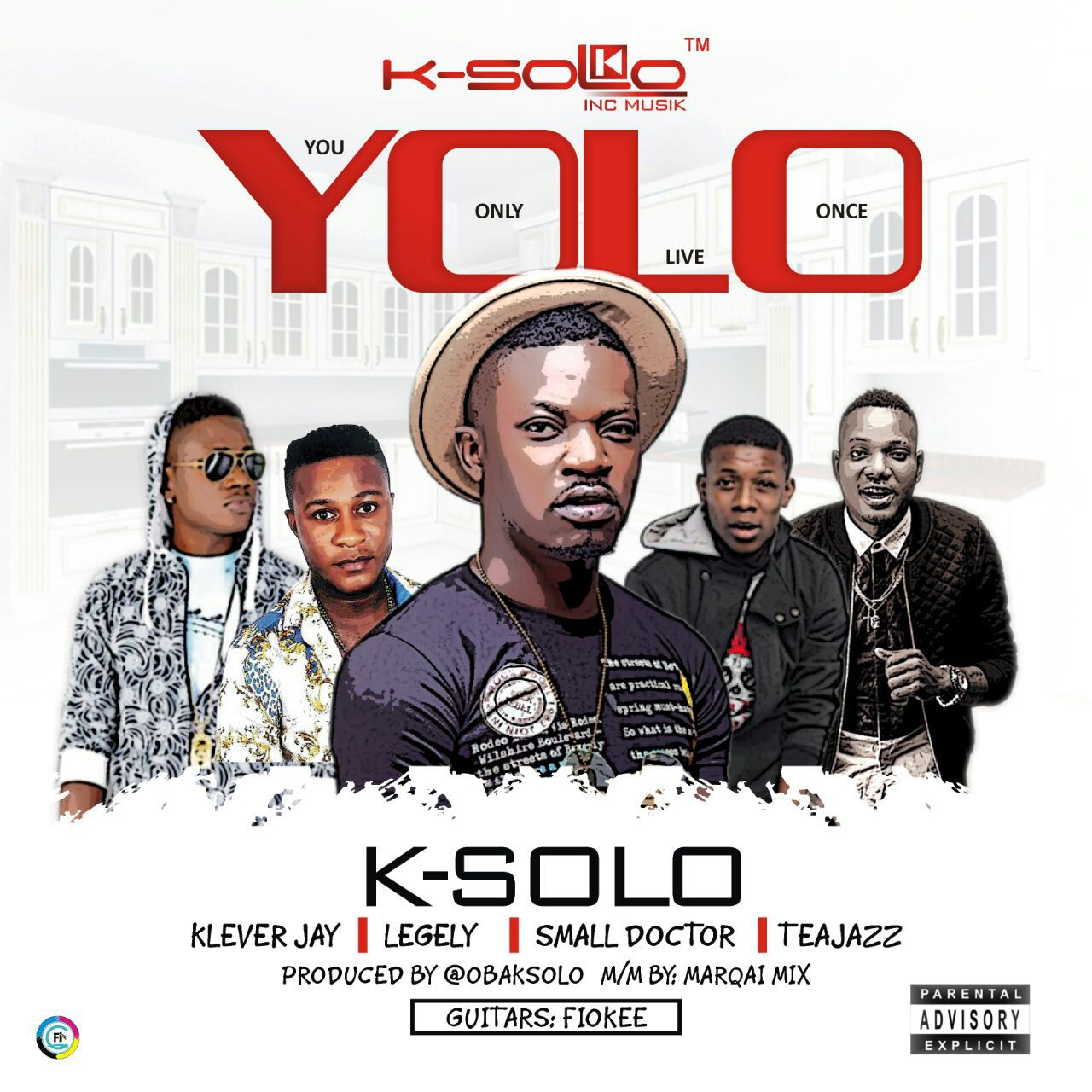 K-Solo Ft. Klever Jay, Small Doctor, Legely & Tea Jazz - Yolo