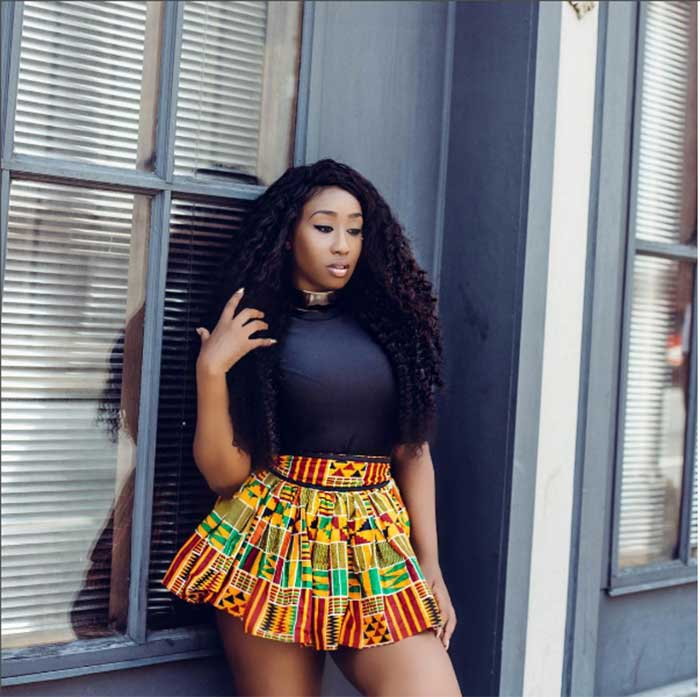 African Queen! Victoria Kimani Is All Shades Of S3xy In New Photos