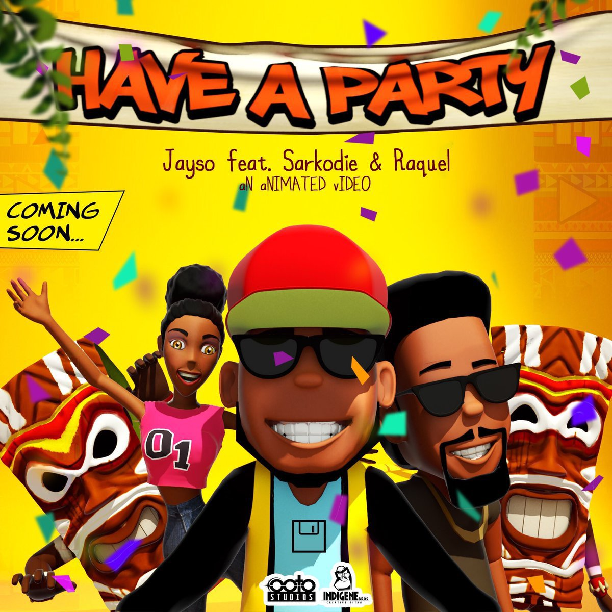 Jayso - Have A Party Ft. Sarkodie & Raquel