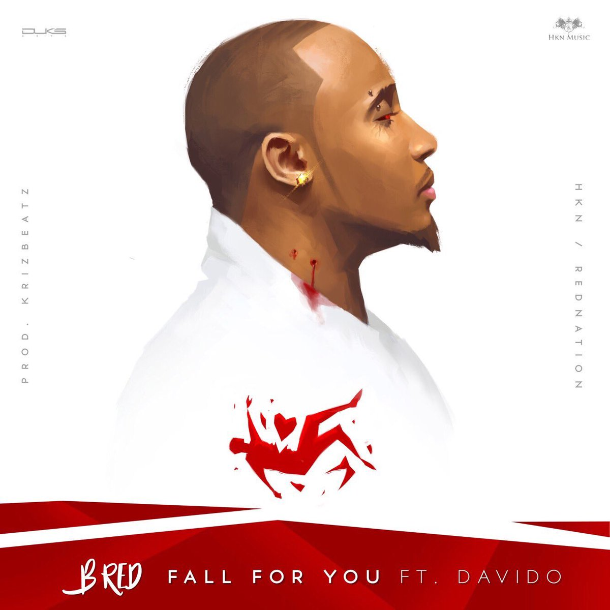 B Red – Fall For You ft. Davido