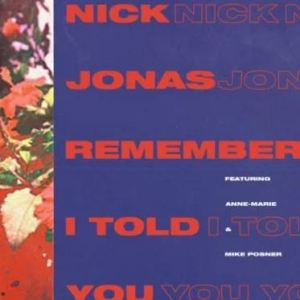 nick-jonas-remember-told-ft-anne-marie-mike-posner-song-cover