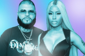 Nicki Minaj Previews Farruko's ''Krippy Kush (Remix)''